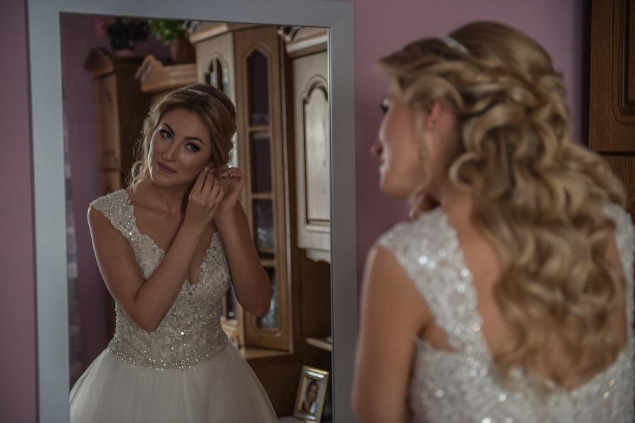 Mrs. Małgorzata In Wedding Dress Mori Lee 8126 Main From